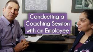 employee coaching session