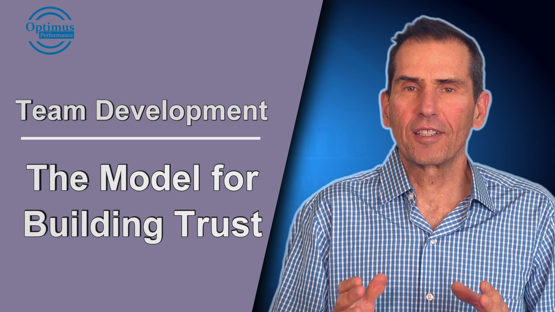 model for building trust