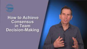 how to achieve consensus